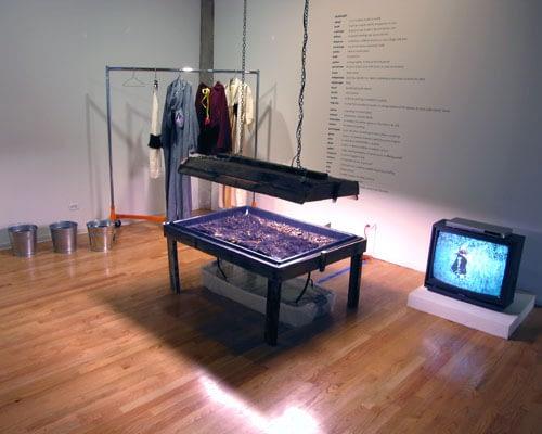 "Nance Klehm, ""Collection Suit/Dispersal Suits,"" 2005"